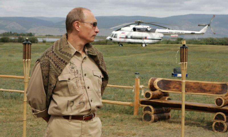 Путин рассказал об обстреле его вертолета