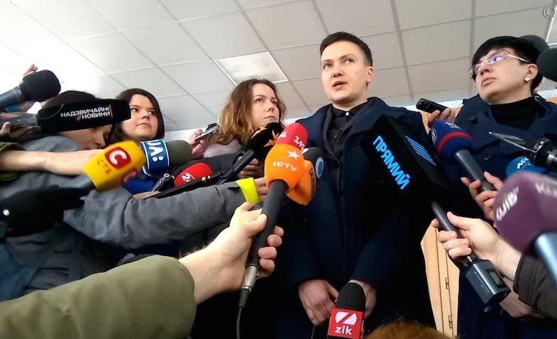Савченко призвала к свержению власти на Украине