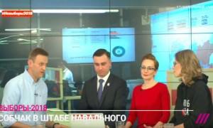 Собчак обвинила Навального в расколе оппозиции