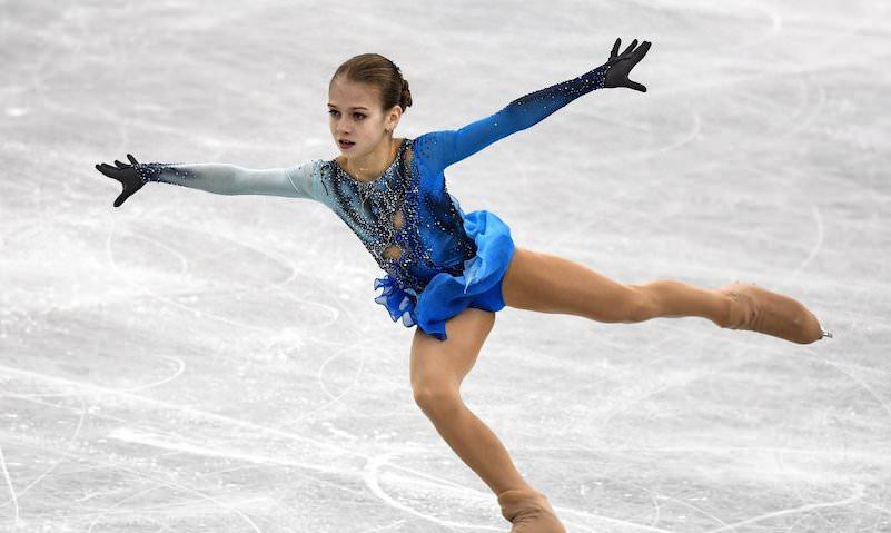 13-летняя фигуристка из России впервые в истории исполнила четверной тулуп