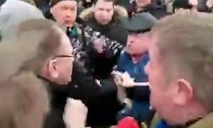 Губернатора Московской области атаковала разъяренная толпа