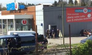 Боевик ИГИЛ захватил супермаркет во Франции