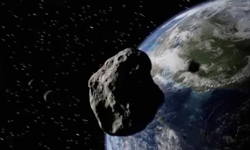 К Земле летит астероид в 4 раза больше Челябинского метеорита