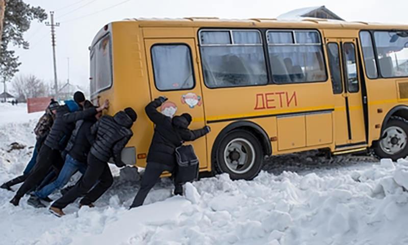 Немцы задержали туристический автобус с российскими детьми