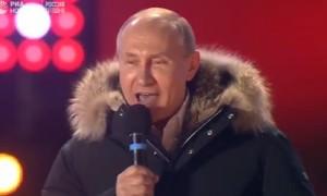 Путин: «Мы будем думать о будущем! Мы обречены на успех!»