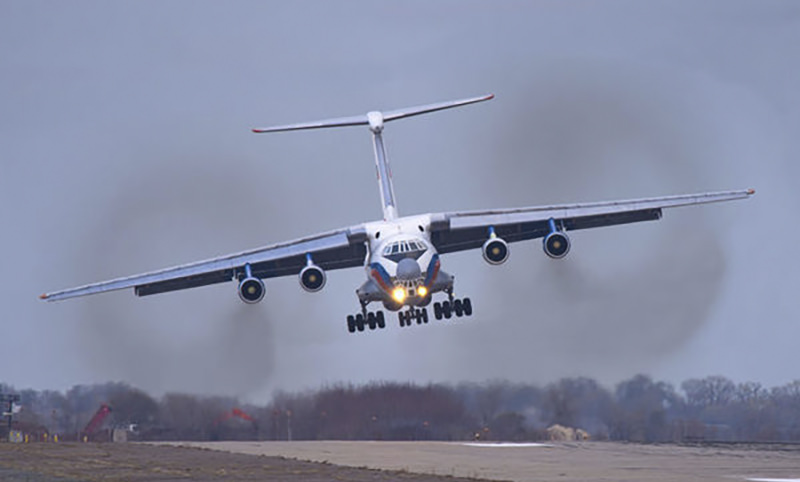 При посадке на базе  Хмеймим разбился  российский транспортник