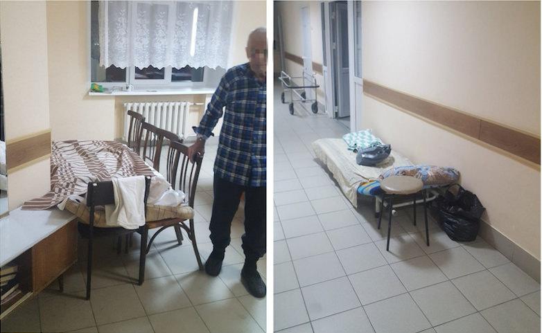 Сердечника положили на стулья в коридоре больницы в Пермском крае