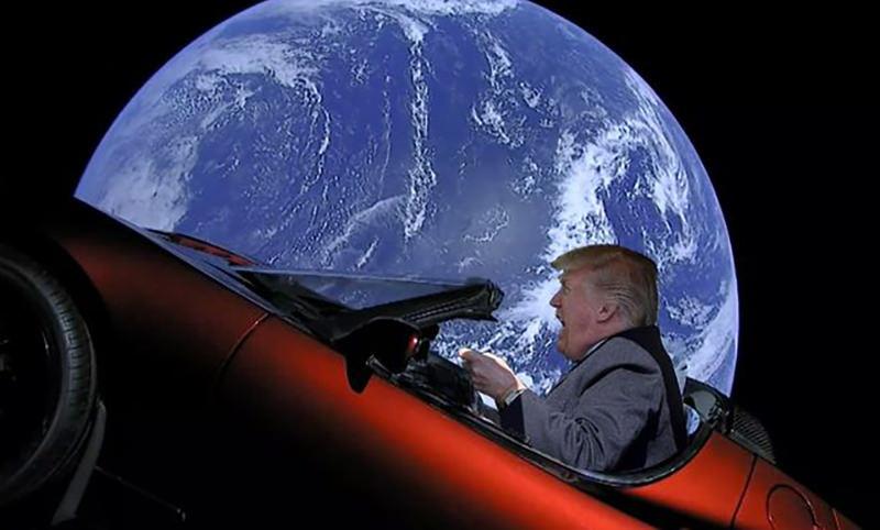 Трамп рассказал о космических войсках США