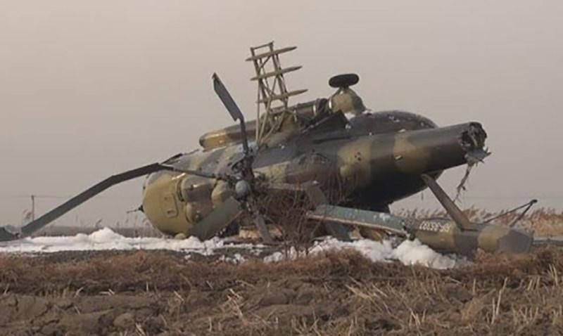В Чечне разбился вертолет Ми-8