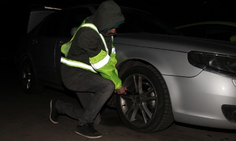 Уже сегодня начинают штрафовать за отсутствие светоотражающих жилетов