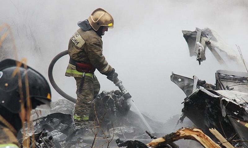 Вертолет разбился в Хабаровске, шестеро погибших