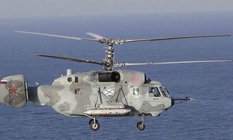 Разбился российский военный вертолет, оба летчика погибли