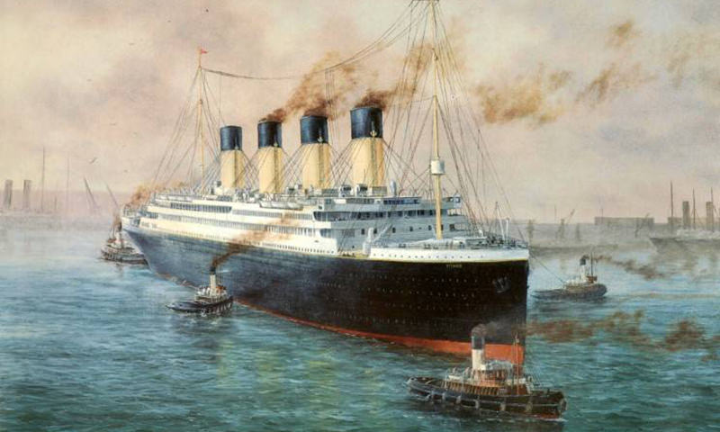 Календарь: 10 апреля — «Титаник» вышел в своё первое и последнее плавание
