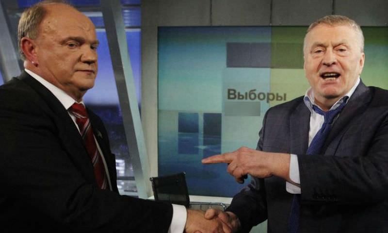 Жириновский померился с Зюгановым плодовитостью