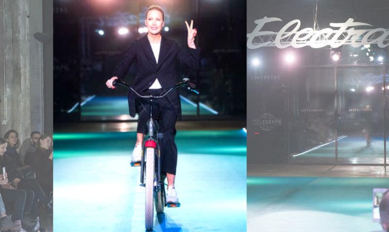 Елена Летучая оседлала велосипед и обрела новую профессию