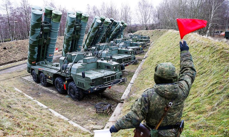 Россия начала выпуск зенитных комплексов С-400 для Турции