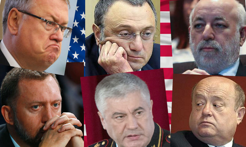 США ввели санкции против российских олигархов и чиновников