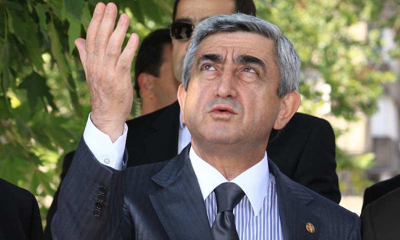 Серж Саргсян назвал условие ухода в отставку с поста премьер-министра Армении