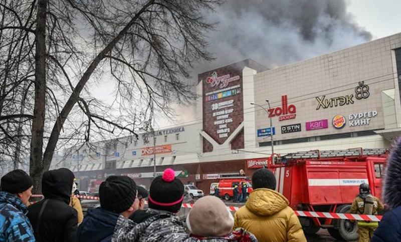 В «Зимней вишне» два года не чинили сломанную противопожарную систему