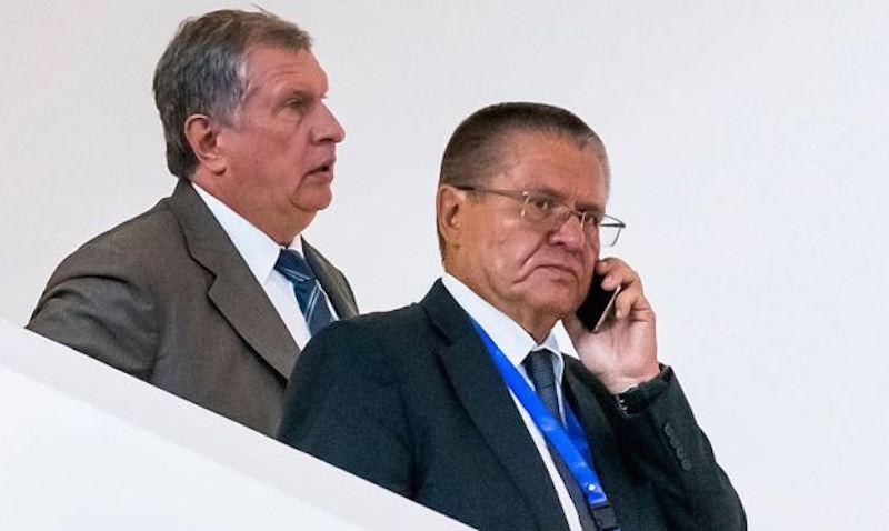 Сечин приехал на допрос по делу Улюкаева
