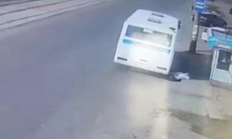Автобус протащил по асфальту пенсионерку в Ангарске