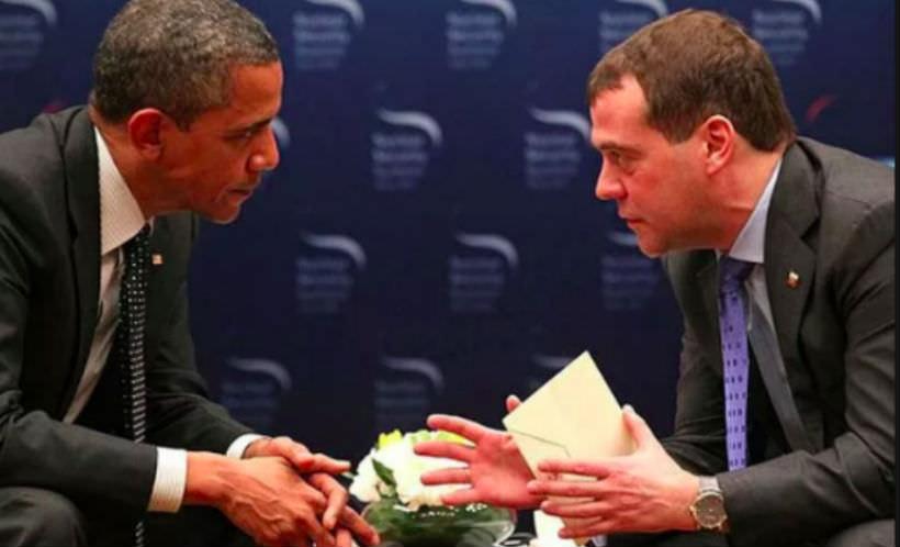 Медведев позвал Обаму в Россию: Приезжай и посмотри на клочья