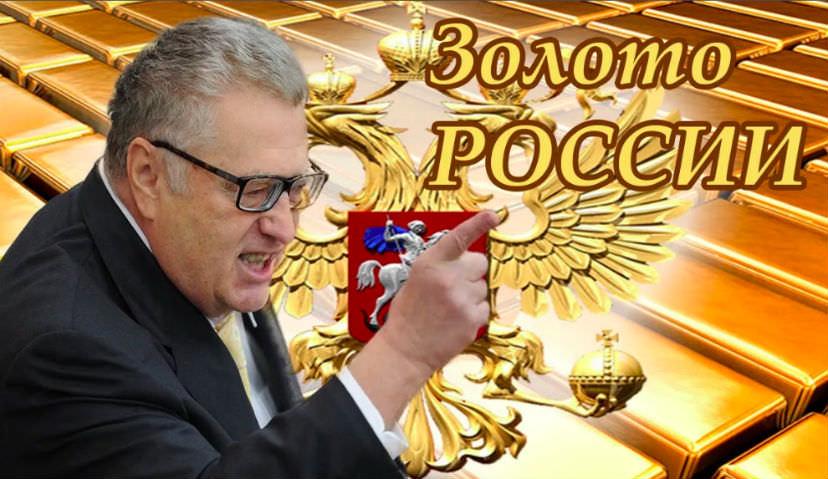 Жириновский потребовал вернуть из США золотой запас России