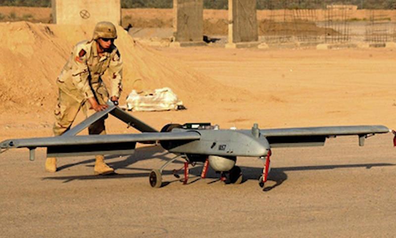 Российские военные помешали американским дронам в Сирии