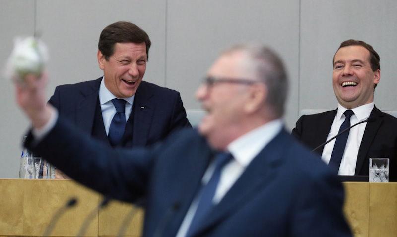 Медведев отдал Жириновскому здание Российской академии наук