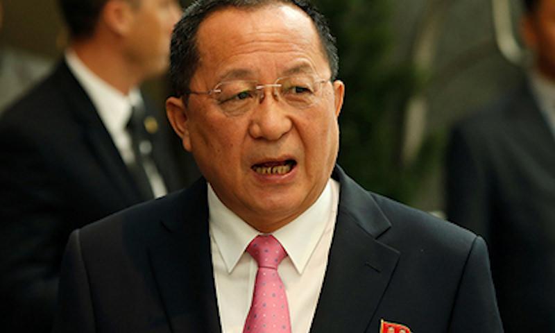 Главный дипломат Северной Кореи приедет в Москву