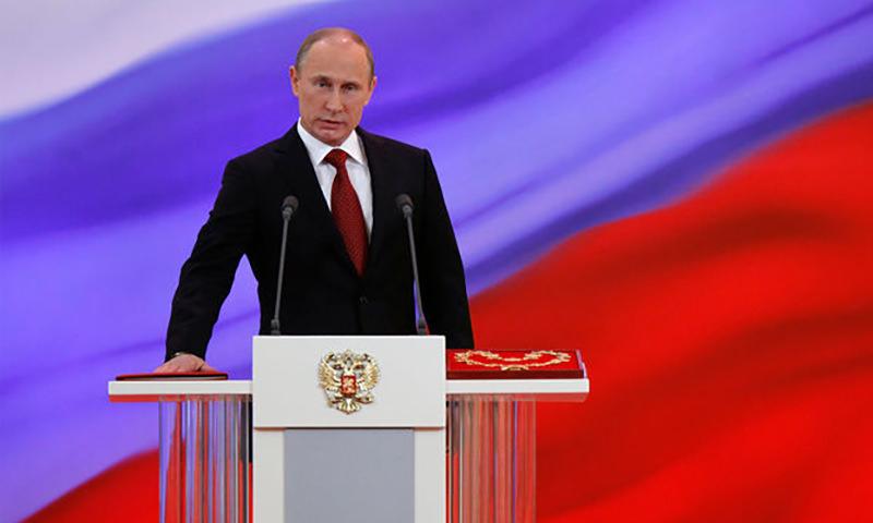 Названа дата  инаугурации Путина