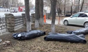 Суровый челябинский субботник: мусор собирали в мешки для трупов
