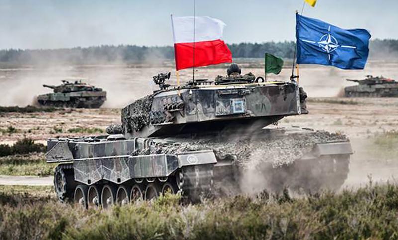 Шойгу: НАТО развернуло в Польше и Прибалтике наступательную группировку войск