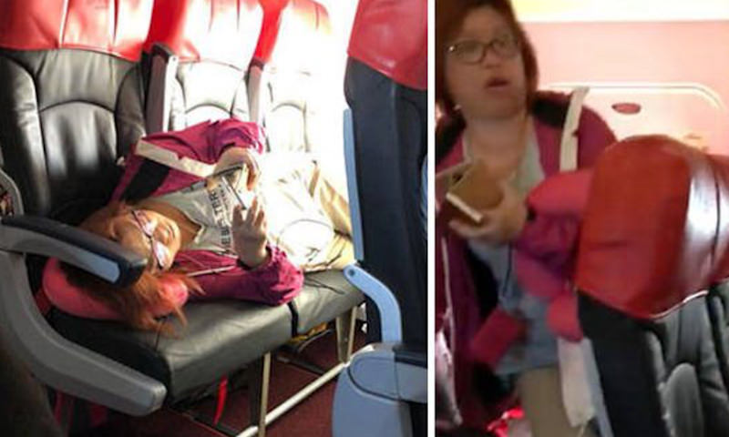 Пассажиры самолёта устроили скандал из-за