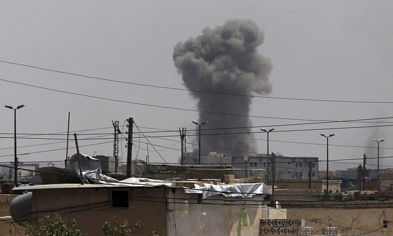Сирийская авиабаза подверглась ракетному удару