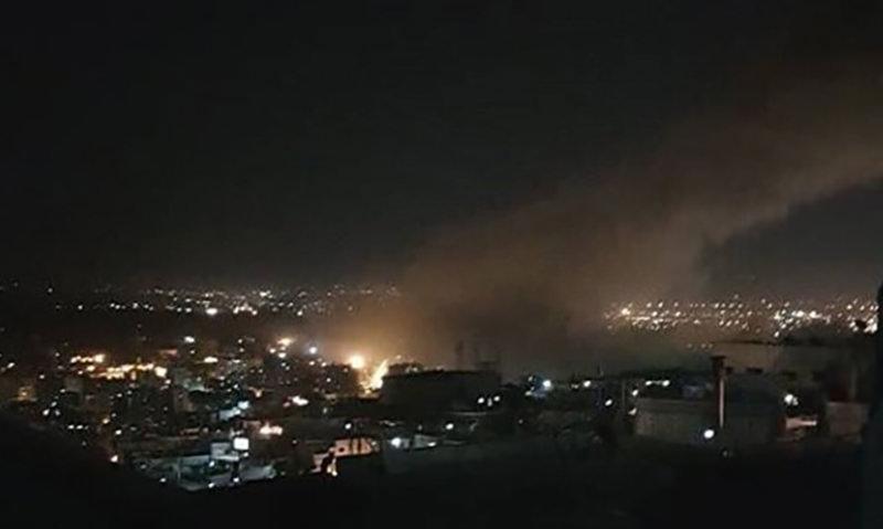 По объектам в Сирии выпустили более ста ракет