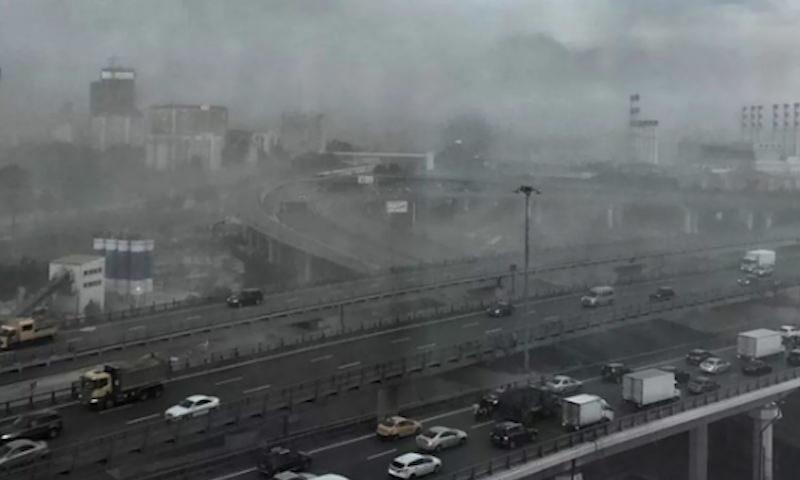 Ураган-апокалипсис обрушился на Москву