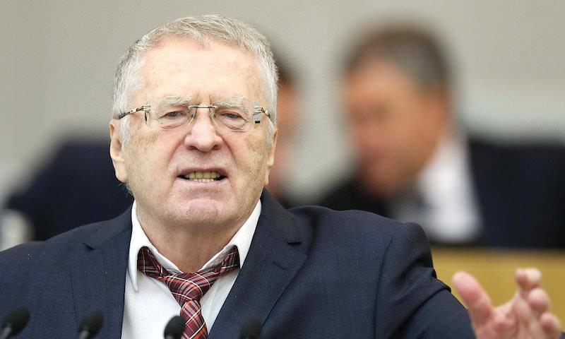 Отменить пост президента в России предложил Жириновский