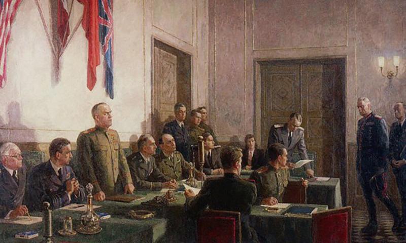 Календарь: 8 мая - Фашистская Германия безоговорочно капитулировала