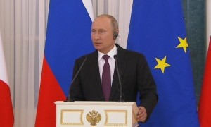 Путин отчитал французского журналиста за не тот вопрос