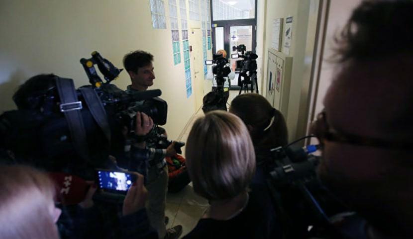 Из-за Крымского моста в Киеве задержали российских журналистов