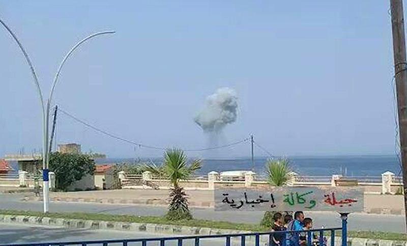 Российский Су-30СМ разбился близ авиабазы Хмеймим в Сирии