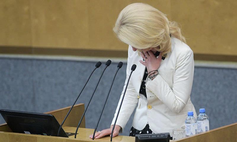 Глава Счетной палаты расплакалась в Госдуме