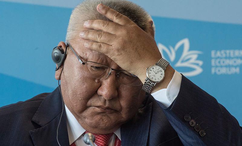 Глава Якутии подал в отставку