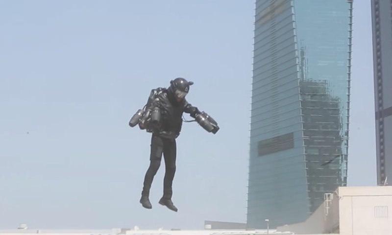 Костюм Железного человека стал реальностью в Дубае