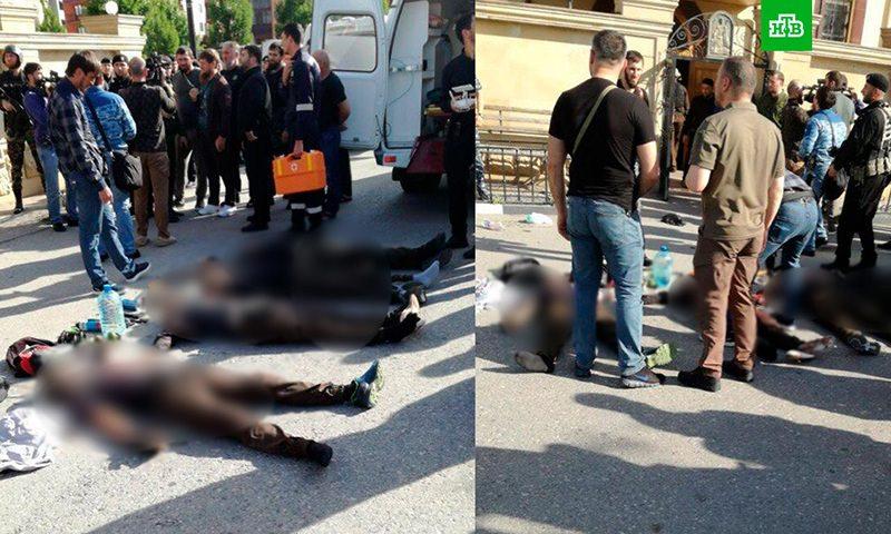Правоохранители установили  личности напавших на церковь в Грозном боевиков