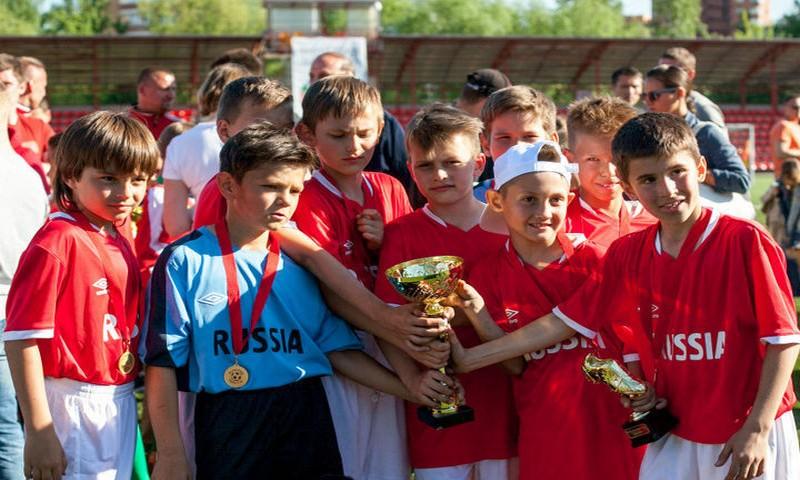 Сборная России выиграла детский ЧМ по футболу