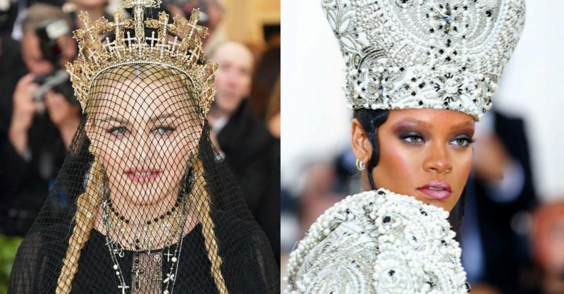 Черная Мадонна, серебряная Рианна и крылатая Кэти Перри: как прошло главное событие моды