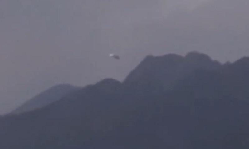 НЛО приземлилось в гористой местности в Италии