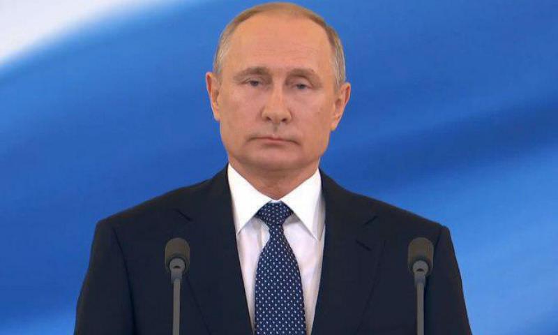 Владимир Путин вступил в должность главы России